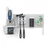 GS777 Elite Wall System with Coaxial Ophthalmoscope, Otoscope, Aneroid BP, One Cuff & Specula Dispenser
