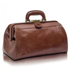 Elite Compact Leather Doctor's Bag   CODE:-MMBAG004