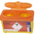 SHARPSGUARD® orange Bin 1Ltr(DD479OL)