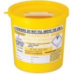 SHARPSGUARD® Yellow Bin 2.5Ltr(DD472YL)
