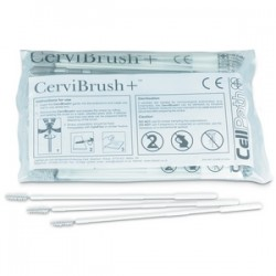 CerviBrush+ Endocervical PAP Sampler x 100