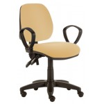 Mid Back Consultation Chair with Arms CODE:-MMCHR004