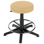 Gas-lift Stool, Foot Ring, 5 Glides CODE:-MMSTO004