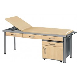 Practitioner Deluxe Examination Couch ,Vinyl - Anti Bacterial , CODE:-MMCOU005