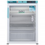 Lec PGRC151 151 L Under-counter Pharmacy Fridge Glass Door