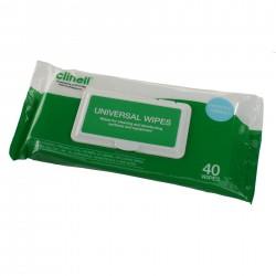 Clinell Universal Wipes x 40 ( CW40 )