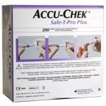 ACCU-CHEK Safe-T-Pro Plus lancet X 200