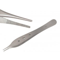 Adson Non-Toothed Micro Forceps 12cm