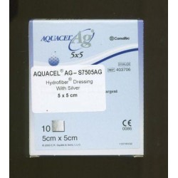 Aquacel AG Dressing 5cm x 5cm