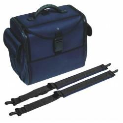 Bollmann Alternative Case- With Shoulder straps (blue polymousse)