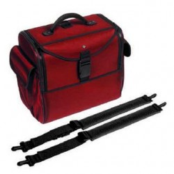 Bollmann Alternative Case- With Shoulder straps (red polymousse)