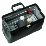 Bollmann Practicus Case (black leather)