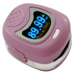 Daray Paediatric Fingertip Pulse Oximeter - In Pink