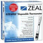 EZEtemp Disposable Thermometer x 100