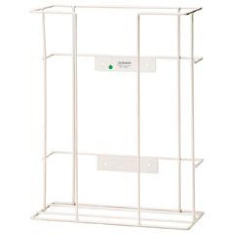 Glove Dispenser - White Plastic Coated Wire Frame - Triple - MEDI ...