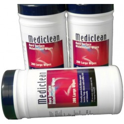 Mediclean 200 Large Wipes