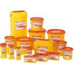 SHARPSGUARD® orange Bin 0.6Ltr