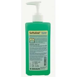 Softalind ViscoRub Alcoholic Hand Sanitiser 500ml