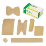 Wash-proof Assorted Plasters X 100