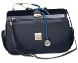 The Acton Bag Blue