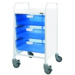 Vista 50 Trolley (3 Double Trays)